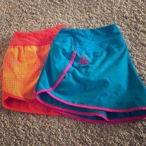 2 pairs Reebok CrossFit Shorts